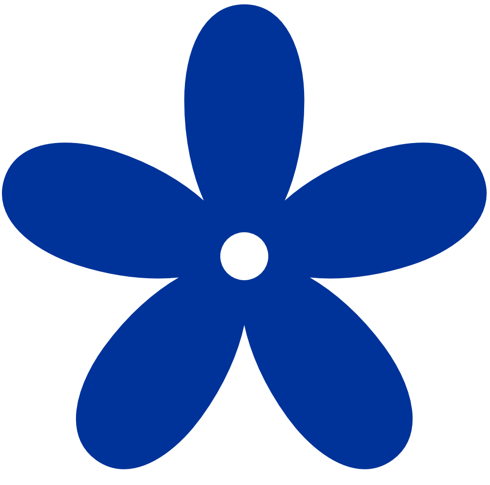 Blue Flower clipart #17, Download drawings