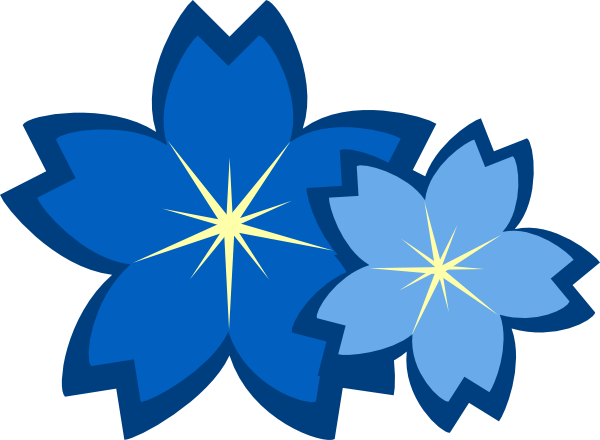 Blue Flower clipart #19, Download drawings