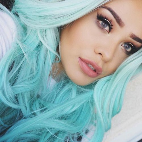 Blue Hair coloring #13, Download drawings
