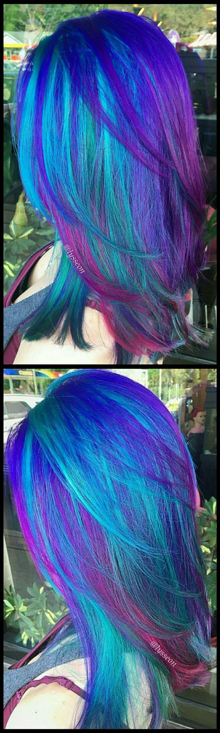 Blue Hair coloring #5, Download drawings