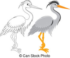 Blue Heron clipart #7, Download drawings