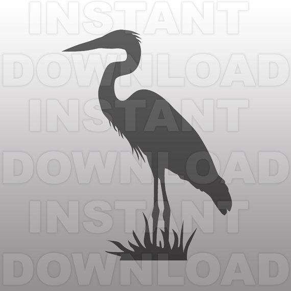 Great Blue Heron svg #20, Download drawings