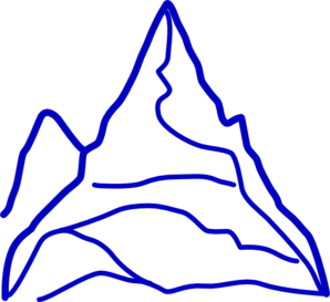 Blue Mountains clipart #4, Download drawings