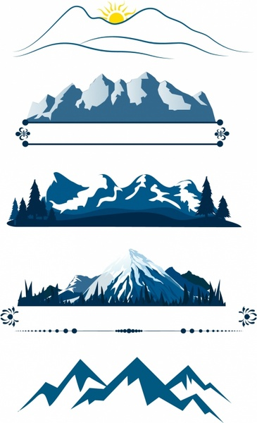 Blue Mountains svg #4, Download drawings