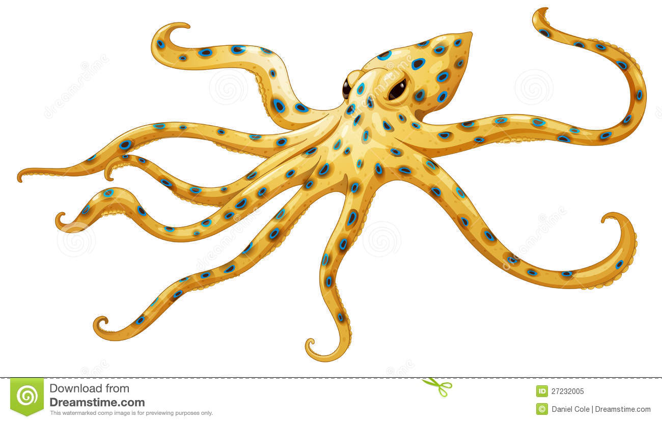 Blue Ringed Octopus clipart #20, Download drawings