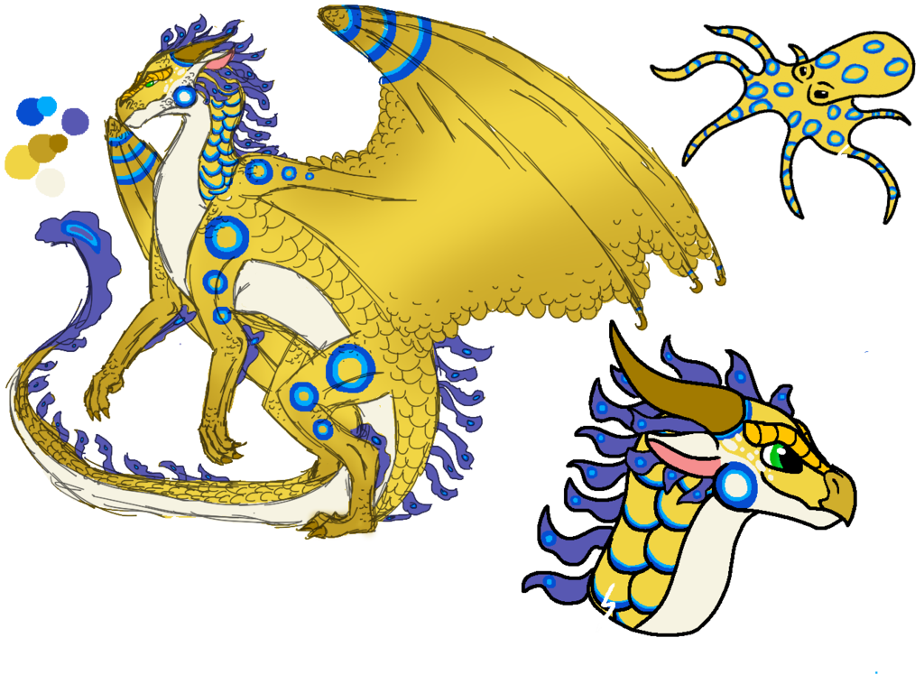 Blue Ringed Octopus clipart #4, Download drawings