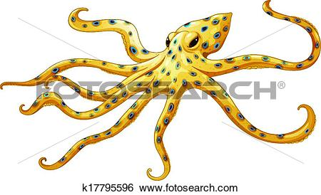Blue Ringed Octopus clipart #19, Download drawings
