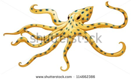 Blue Ringed Octopus svg #5, Download drawings