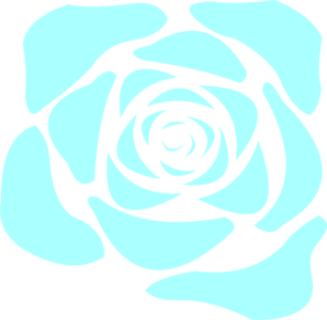 Blue Rose clipart #2, Download drawings