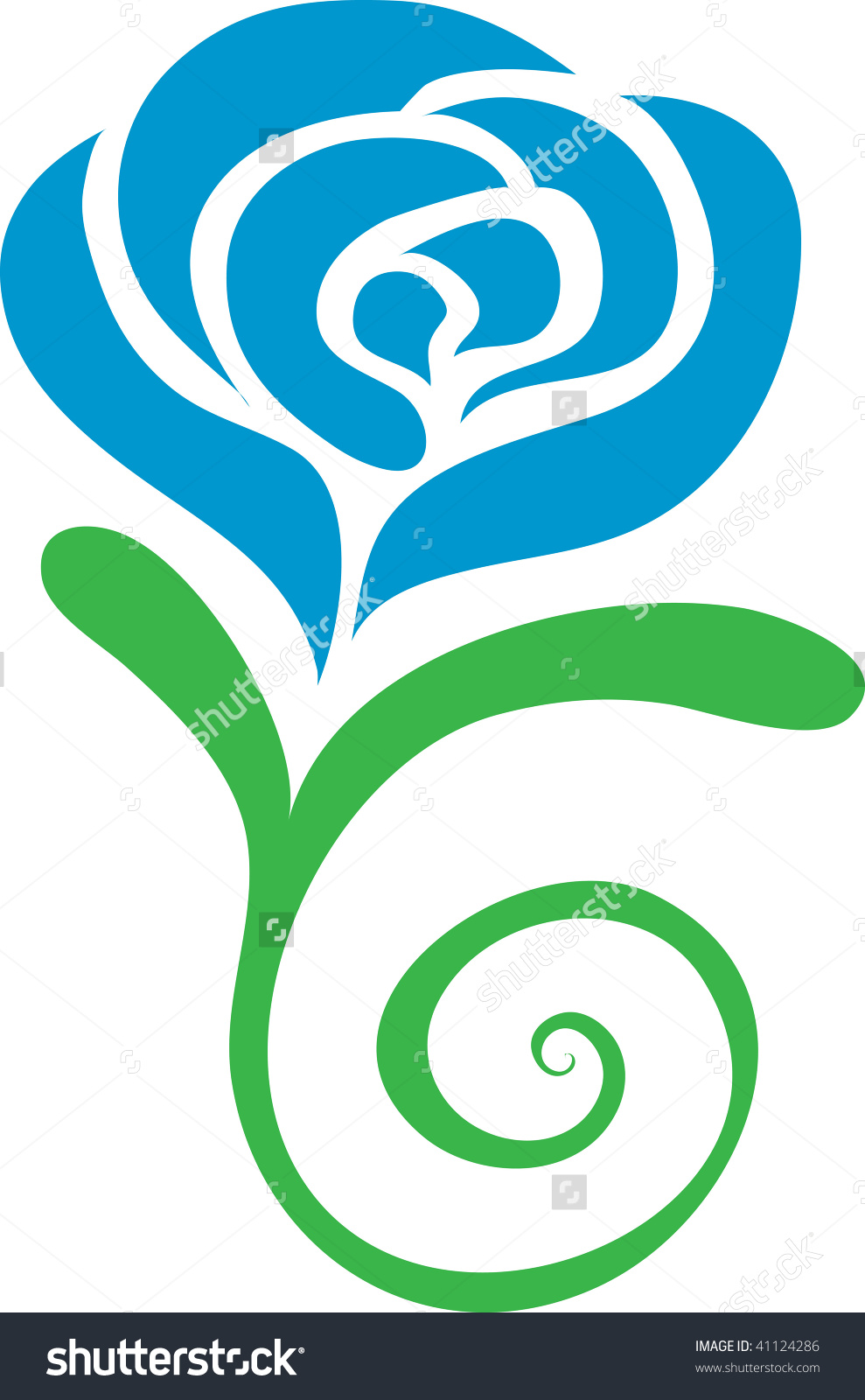 Blue Rose clipart #13, Download drawings