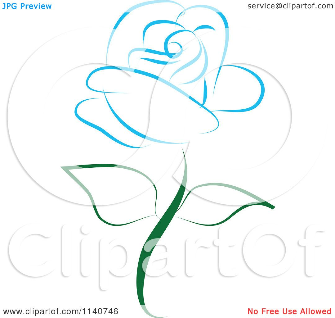 Blue Rose clipart #14, Download drawings