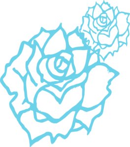 Blue Rose clipart #17, Download drawings