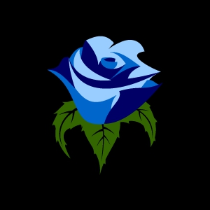 Blue Rose clipart #9, Download drawings