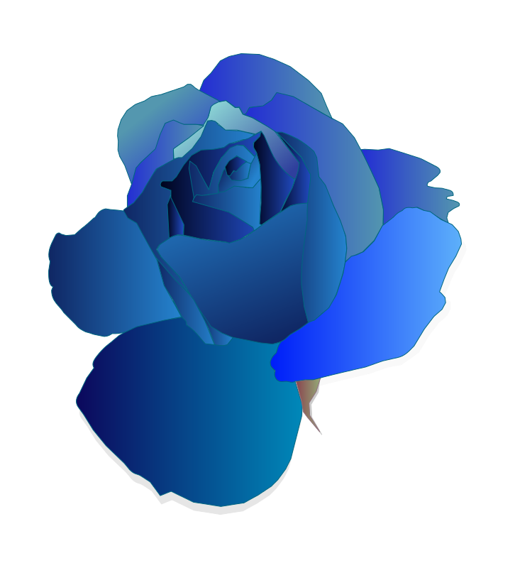 Blue Rose clipart #16, Download drawings