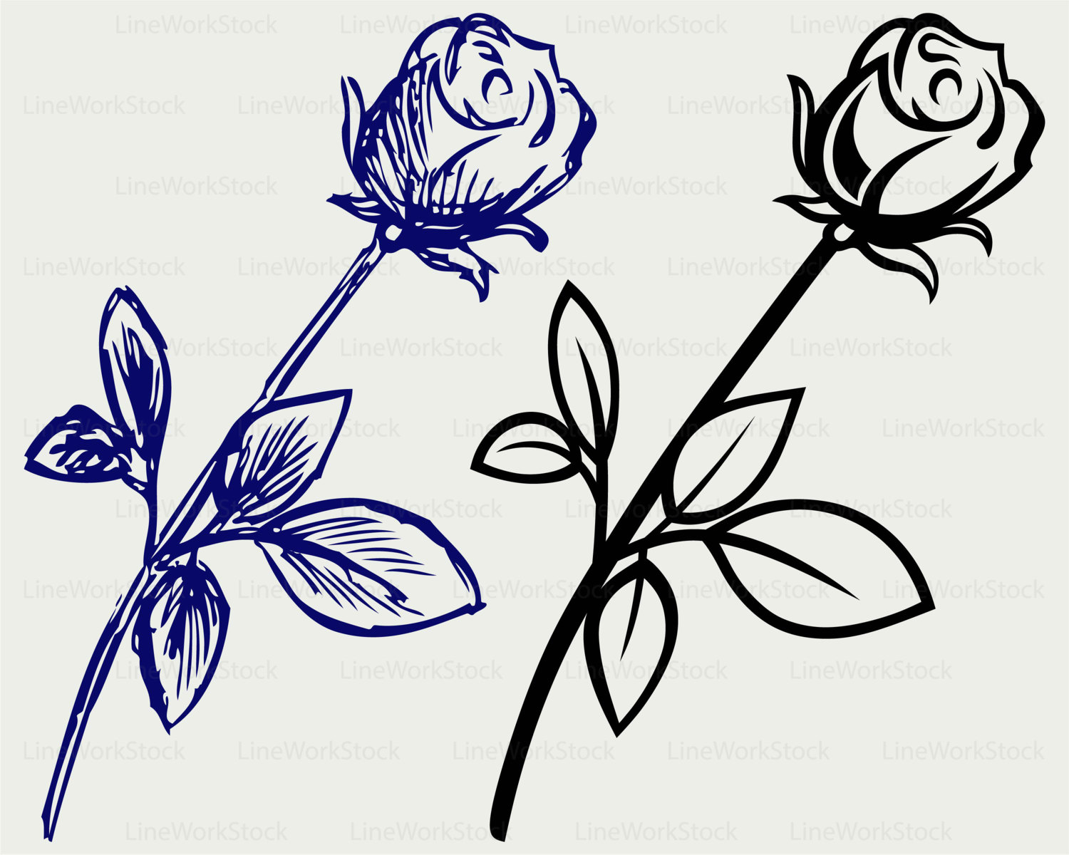 Blue Rose svg #12, Download drawings