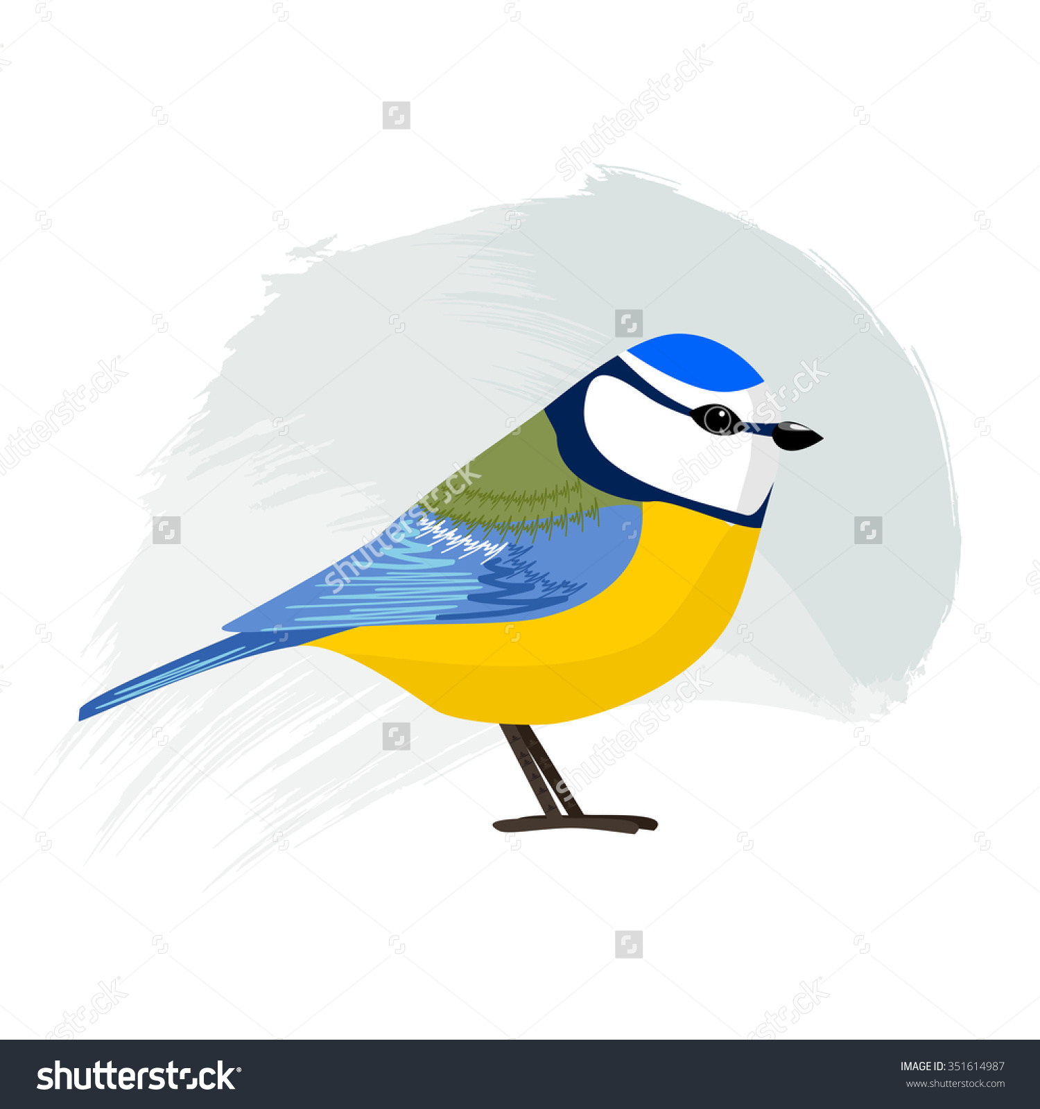 Eurasian Blue Tit clipart #5, Download drawings