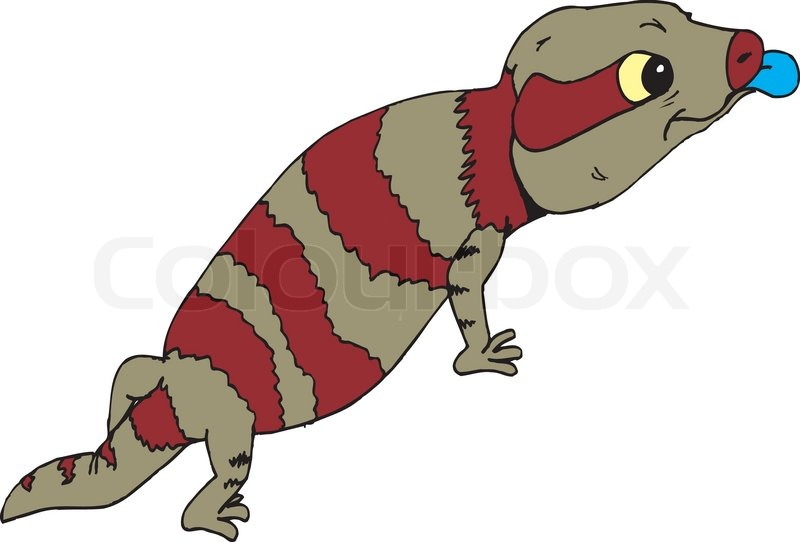 Blue Tongue Lizard clipart #2, Download drawings