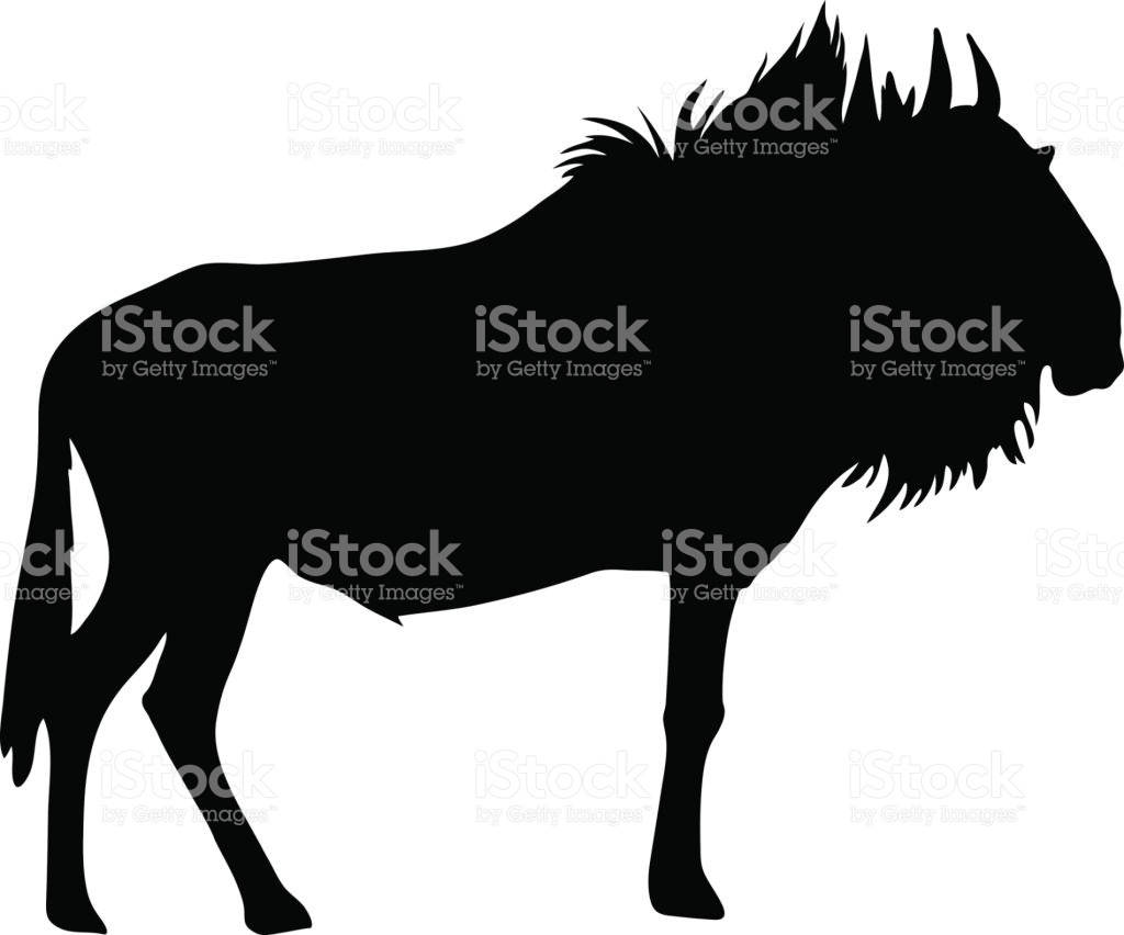 Blue Wildebeest clipart #10, Download drawings