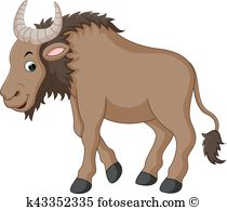 Blue Wildebeest clipart #8, Download drawings