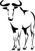 Blue Wildebeest clipart #3, Download drawings