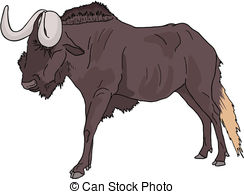 Blue Wildebeest clipart #16, Download drawings