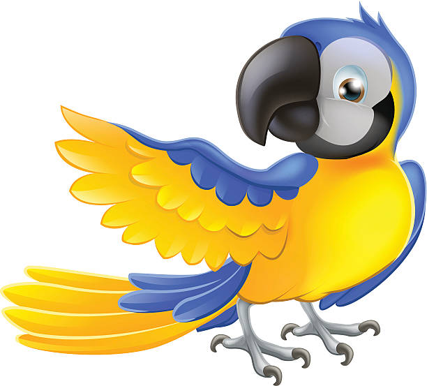 Blue-and-yellow Macaw clipart #16, Download drawings