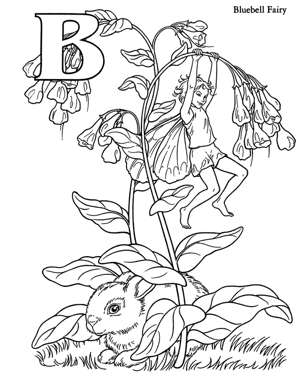 Bluebell coloring #13, Download drawings