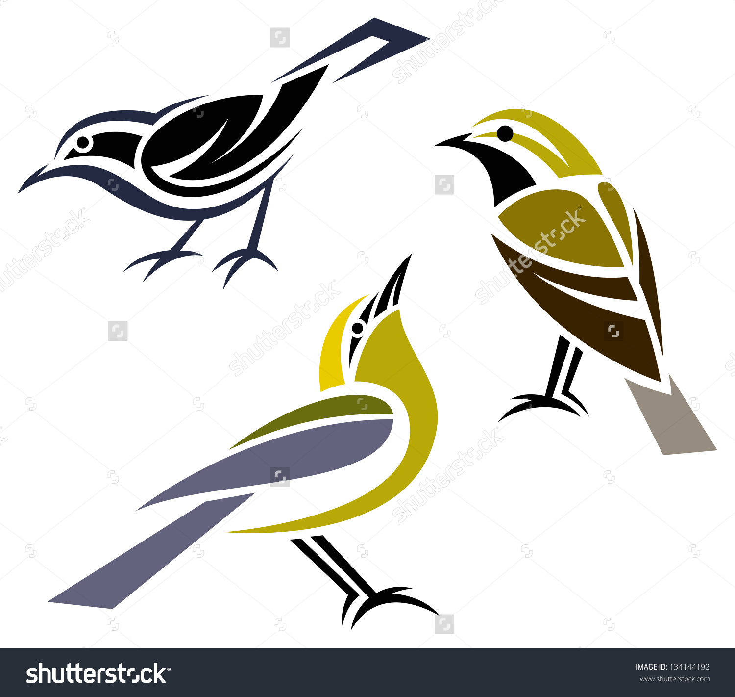 Blue-winged Warbler clipart #19, Download drawings