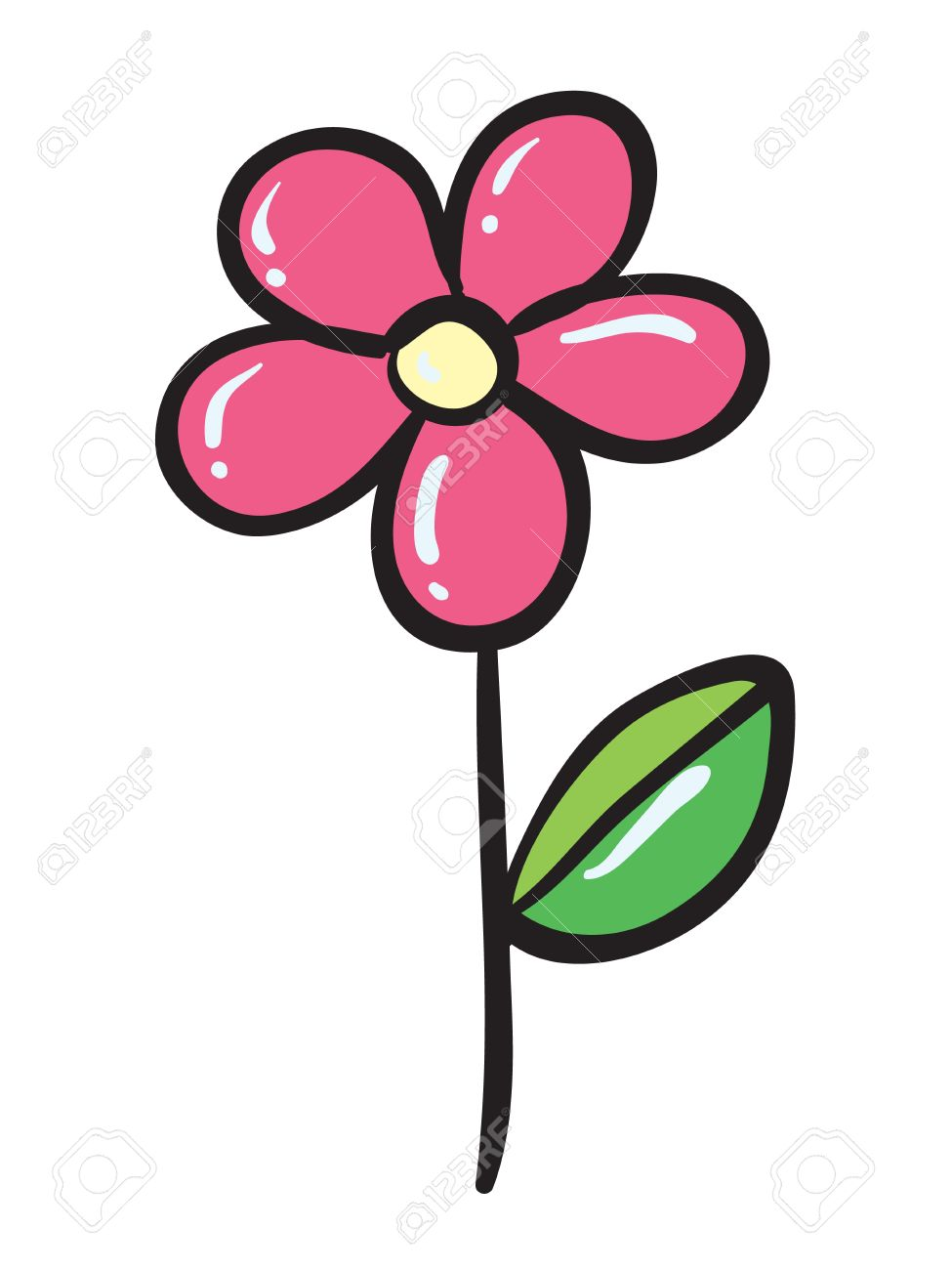 Blume clipart #3, Download drawings