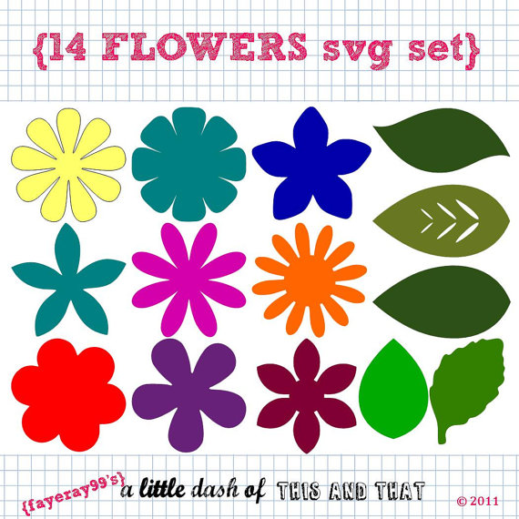 Blume svg #5, Download drawings