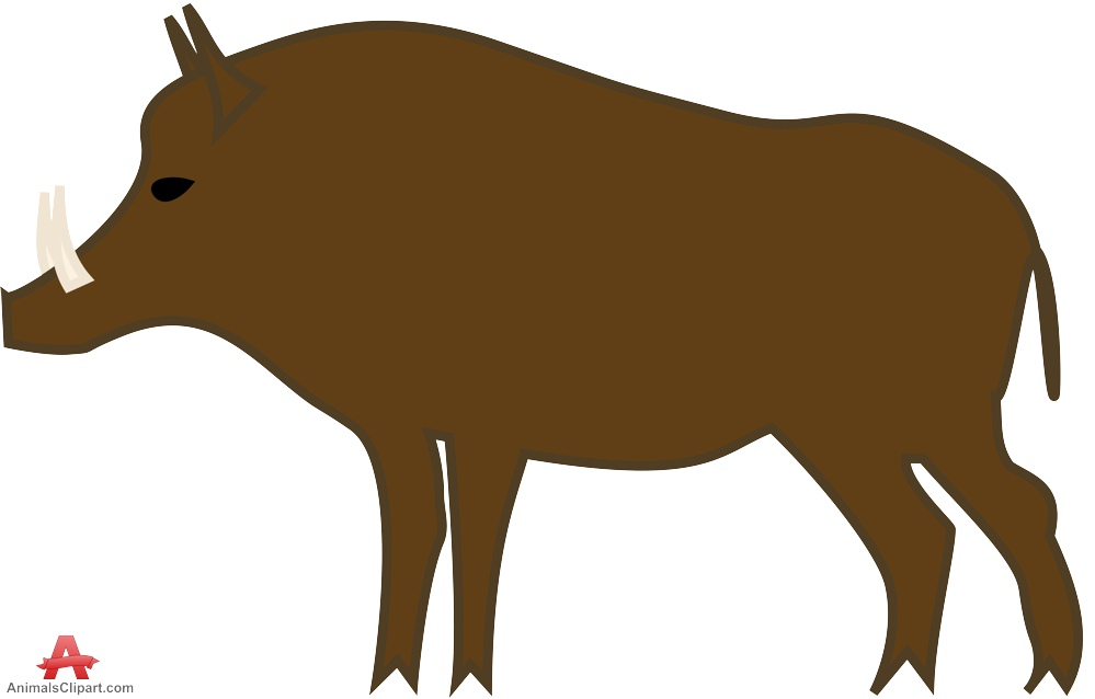 Boar clipart #2, Download drawings