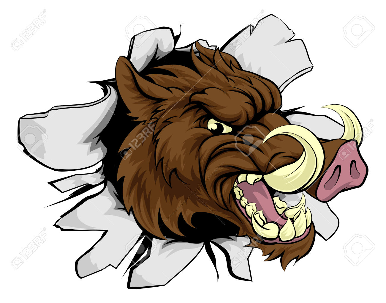 Boar clipart #1, Download drawings