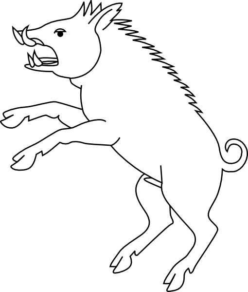 Boar clipart #16, Download drawings