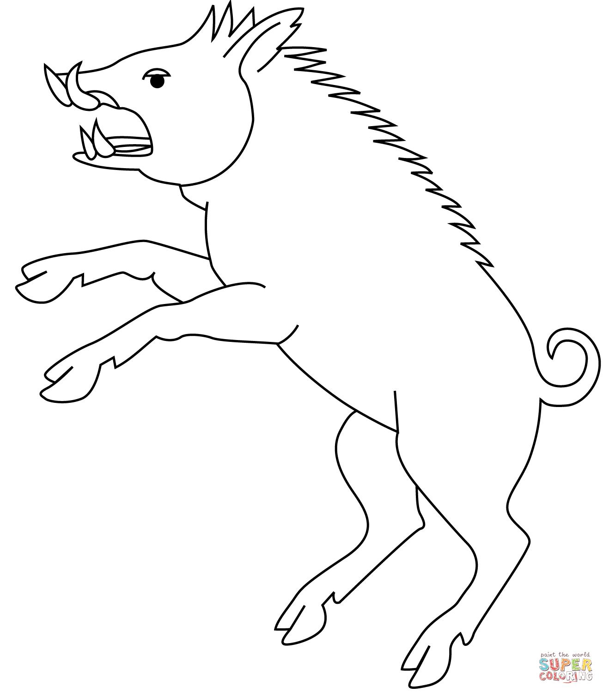Civet coloring #15, Download drawings