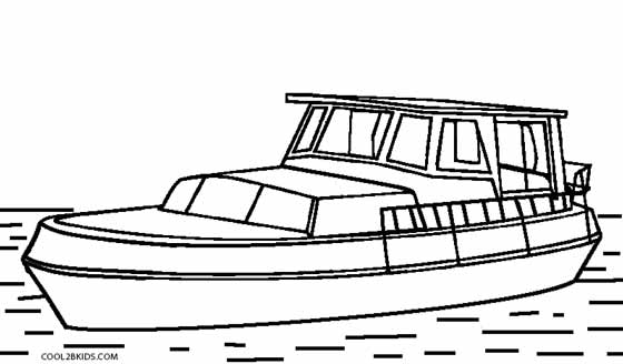 Boat coloring #13, Download drawings