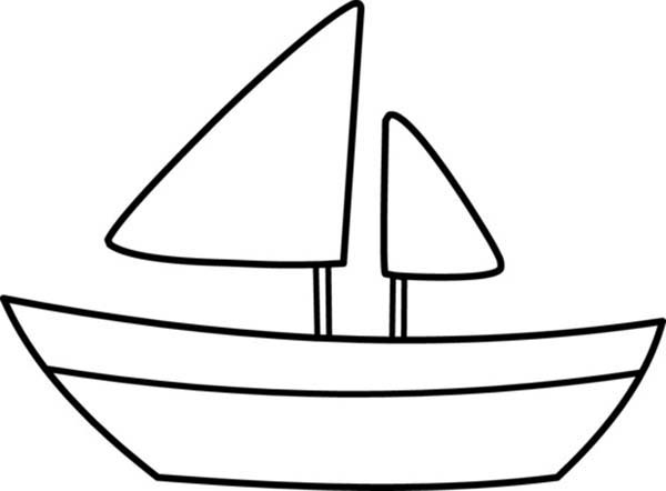 Boat coloring #12, Download drawings