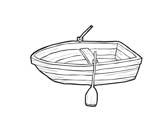 Boat coloring #8, Download drawings