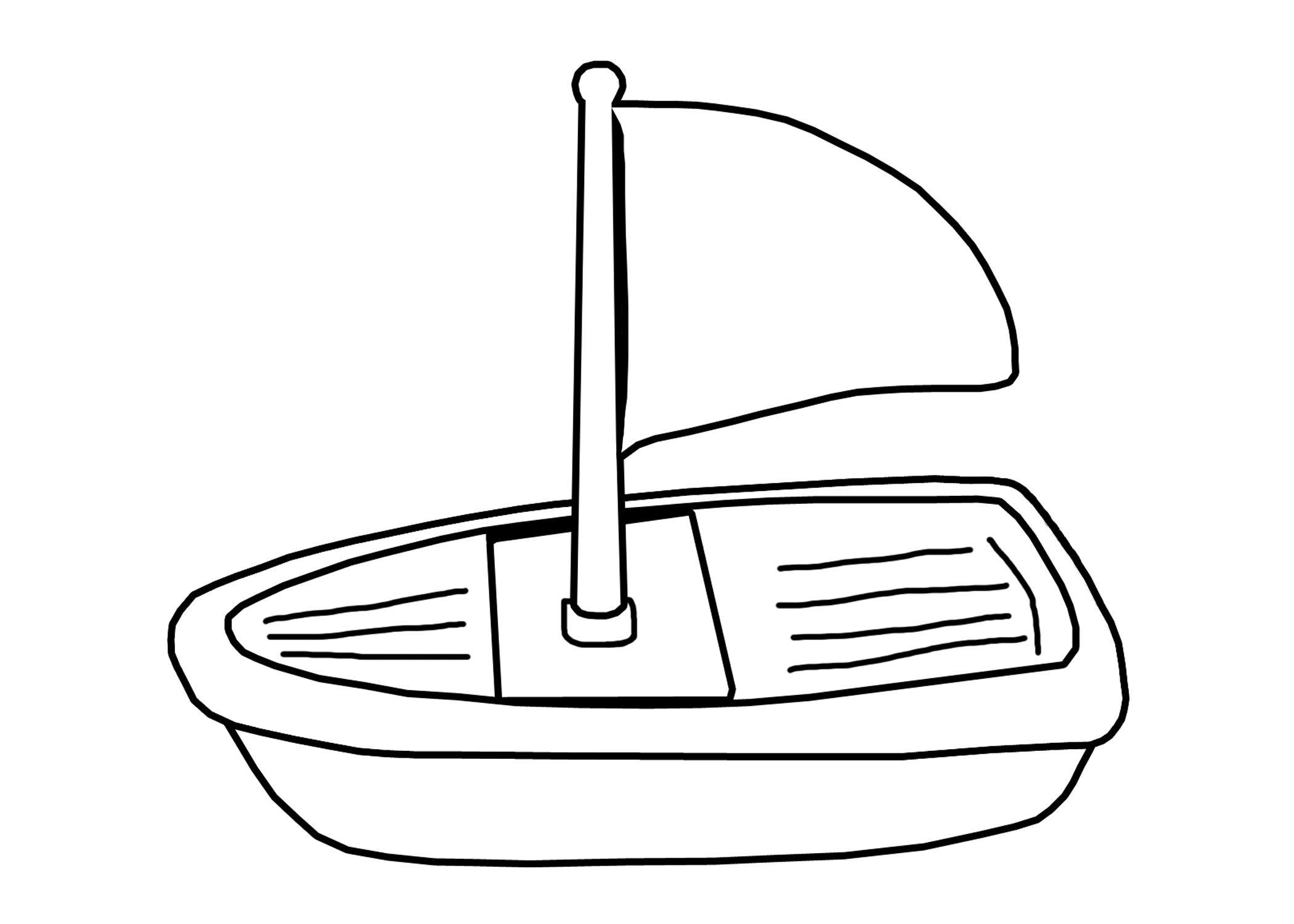 Boat coloring #3, Download drawings