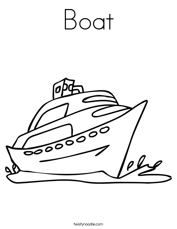 Boat coloring #16, Download drawings