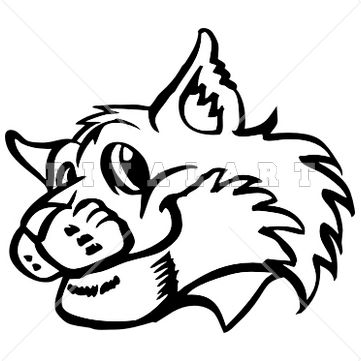 Bobcat clipart #5, Download drawings