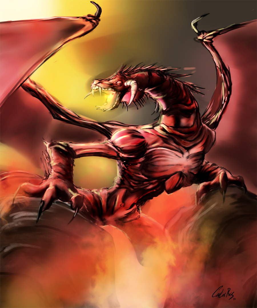 Bogardan Hellkite coloring #9, Download drawings