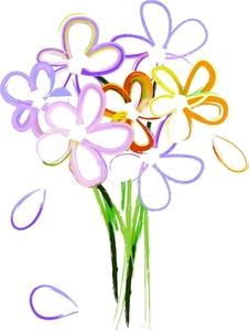 Bouquet clipart #9, Download drawings
