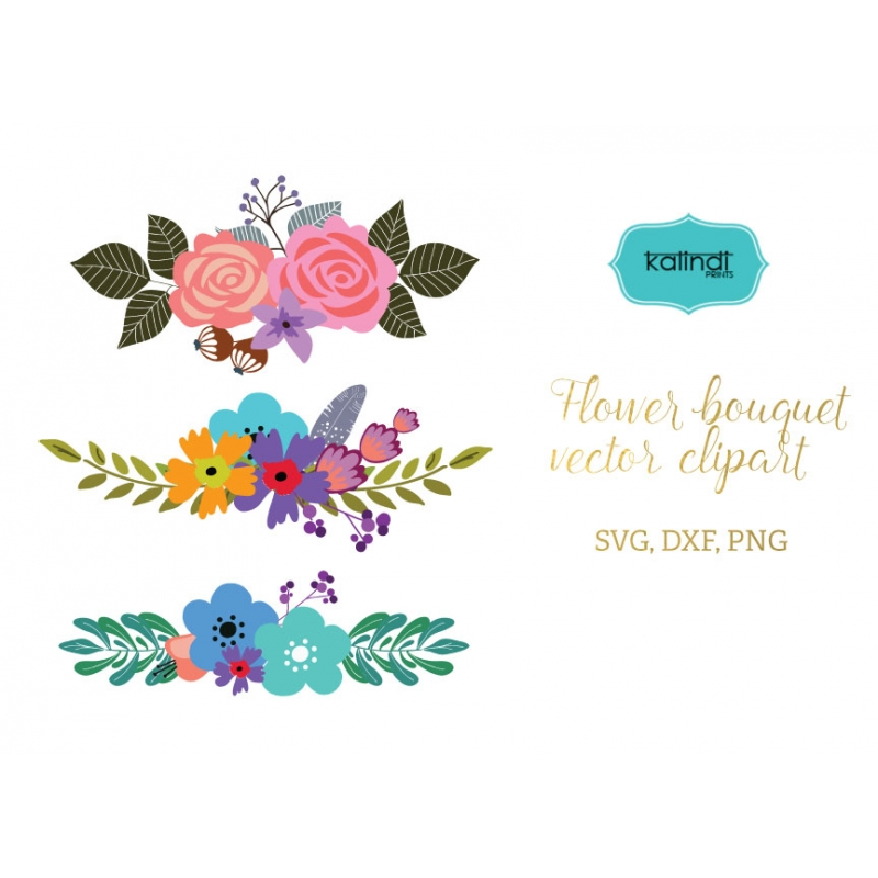Bouquet svg #9, Download drawings