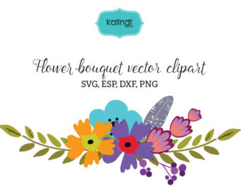Bouquet svg #14, Download drawings