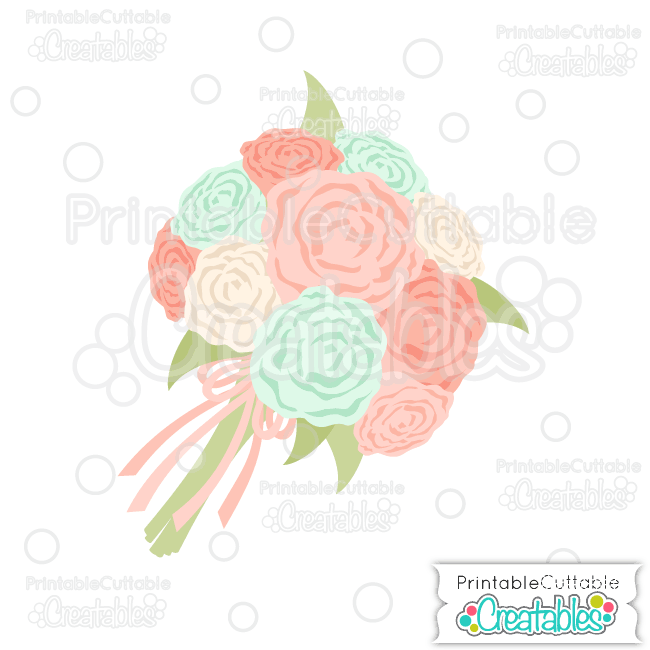 Bouquet svg #20, Download drawings