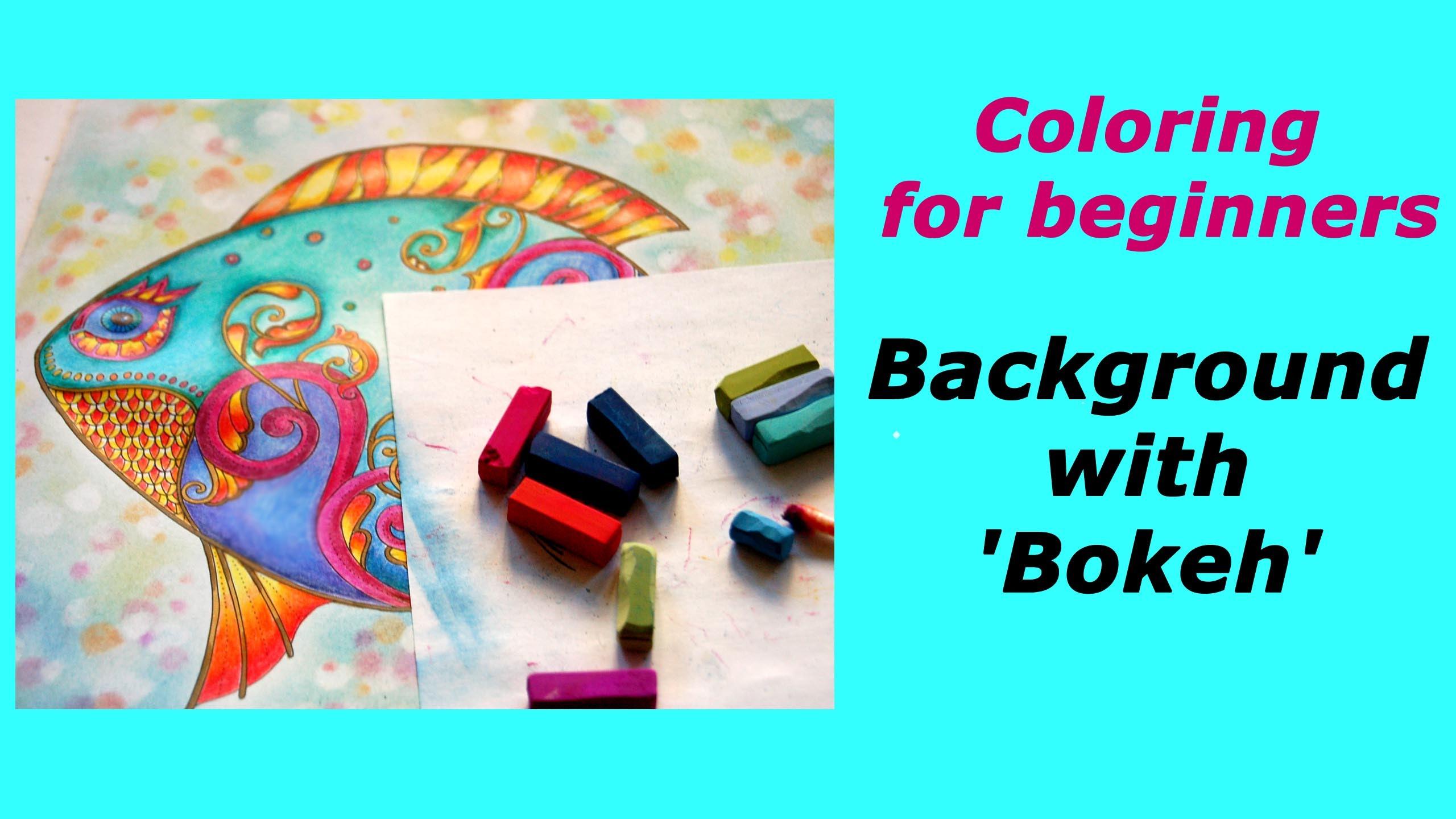Bokeh coloring #16, Download drawings
