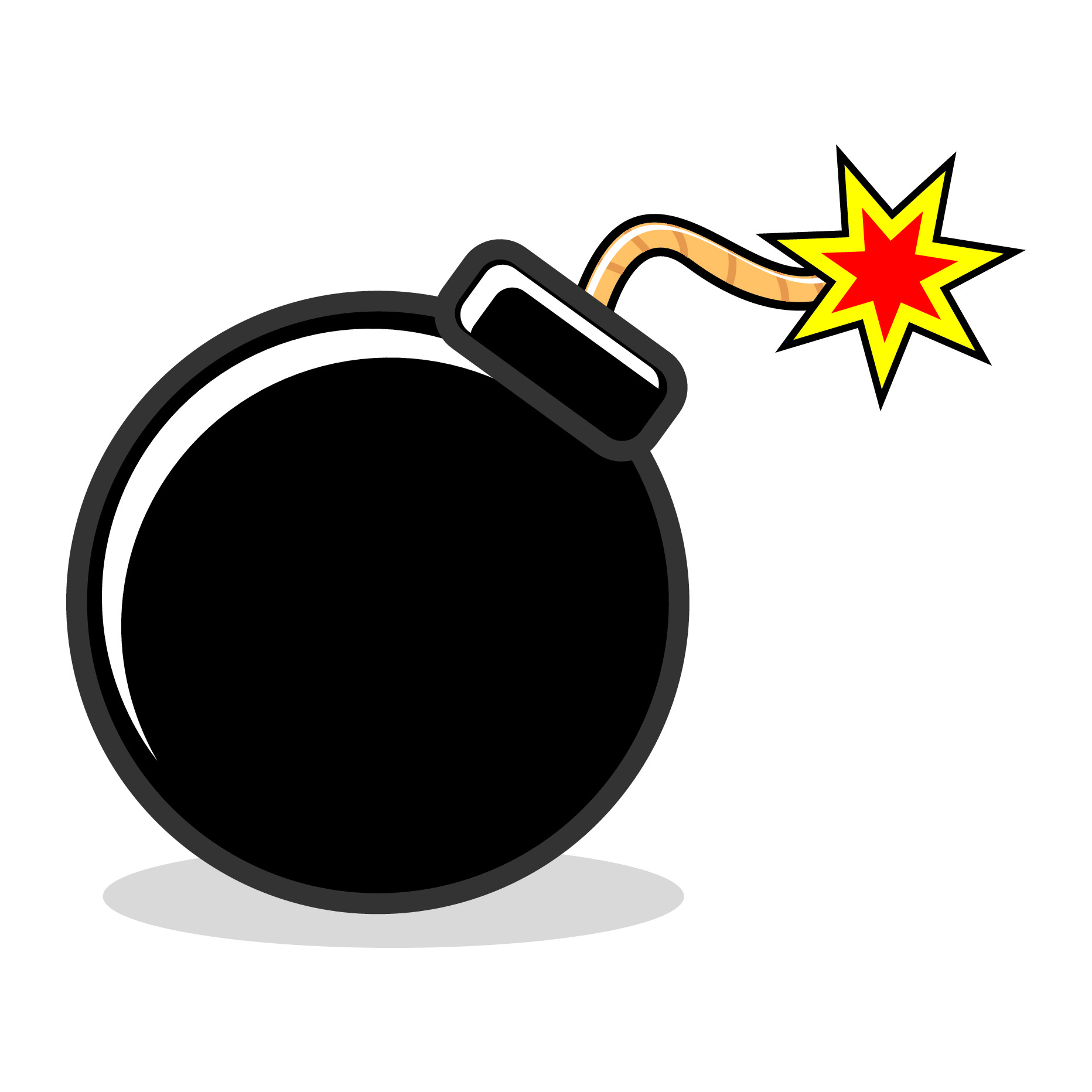 Bomb clipart #10, Download drawings