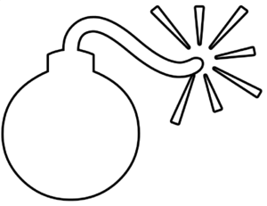 Bomb clipart #1, Download drawings