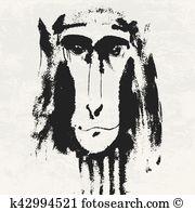 Bonobo clipart #5, Download drawings