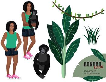 Bonobo clipart #12, Download drawings